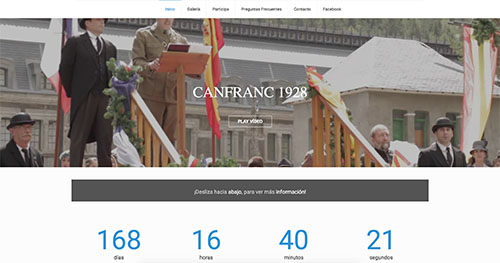 Web Canfranc 1928